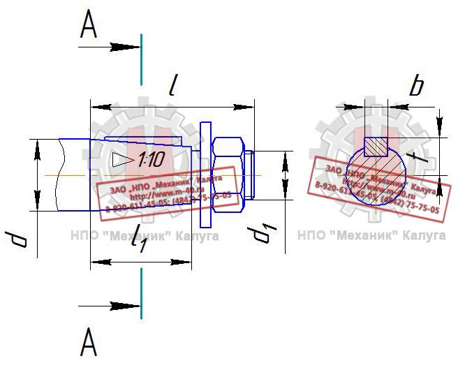 2 конструкция и размеры колец и канавок для них должны соответствовать указанным на чертеже и в таблице