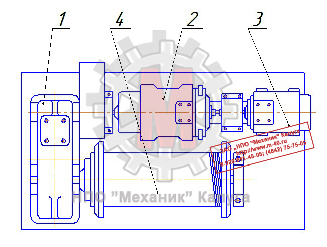 Лебедки грузовые У5120.55А и